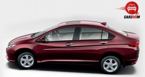 Honda City Exterio Side View