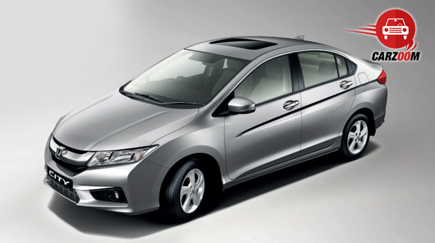 New Honda City Exteriors Top View