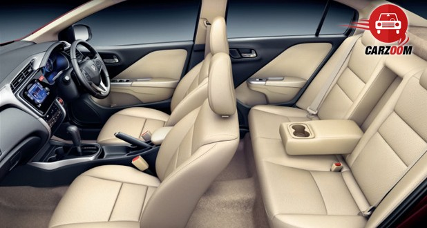 Honda City Interiors Seats