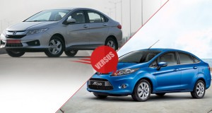 New Honda City 2014 vs Ford Fiesta