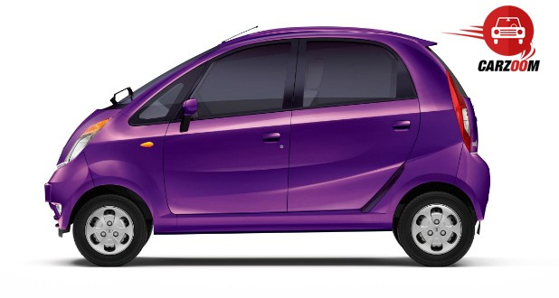 Tata Nano Twist Exteriors Side View