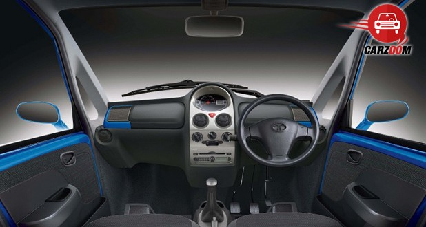 Tata Nano Twist Interiors Dashboard