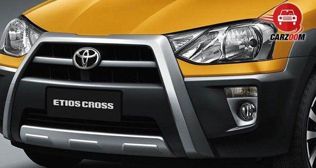 Toyota Etios Cross Exteriors Front View
