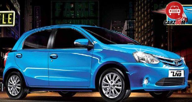 Toyota Etios Liva Exteriors Side View