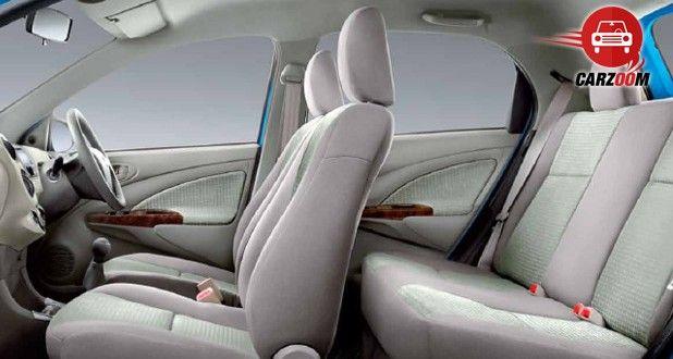 Toyota Etios Liva Interiors Seats