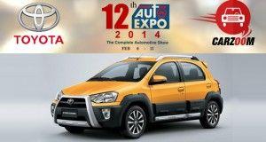 Toyota to Showcase Toyota Etios Cross