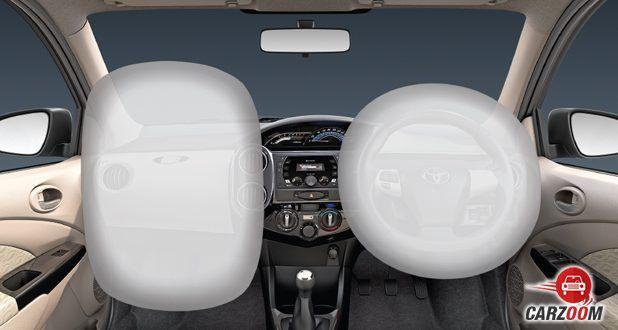 etios liva airbag