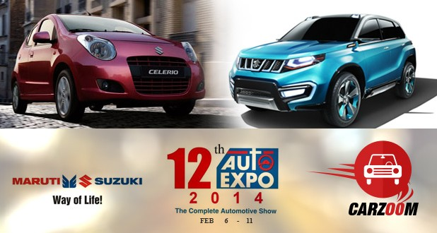 Auto Expo News & Updates - Maruti Suzuki to showcase New Celerio & iV-4 concept