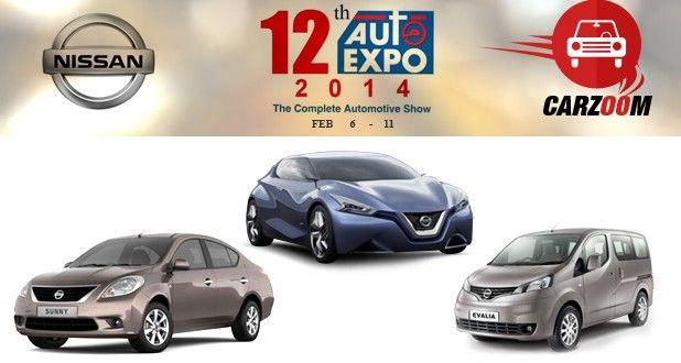 Nissan to Showcase Sunny facelift, Evalia facelift & Friend-Me Concept Car