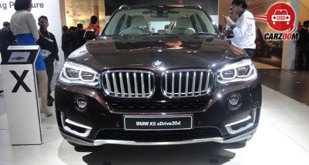 Auto Expo 2014 BMW X5 Next-generation Exteriors Front View