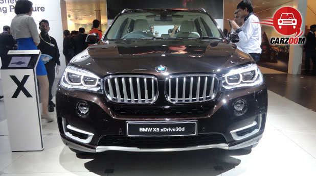 Auto Expo 2014 BMW X5 Next-generation Exteriors Front View