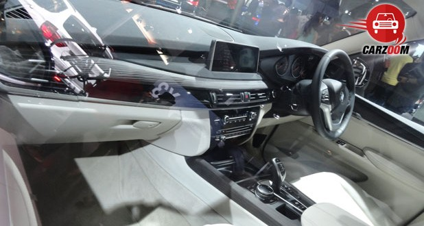 Auto Expo 2014 BMW X5 Next-generation Interiors Dashboard