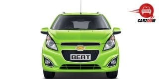Auto Expo 2014 Chevrolet Beat facelift Exteriors Front View