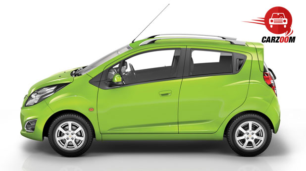 Auto Expo 2014 Chevrolet Beat facelift Exteriors Side View