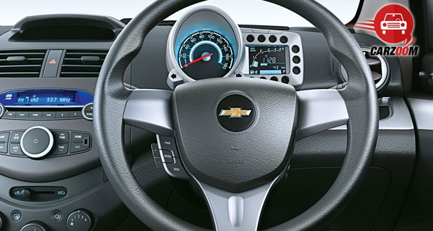 Chevrolet Beat Interiors Dashboard