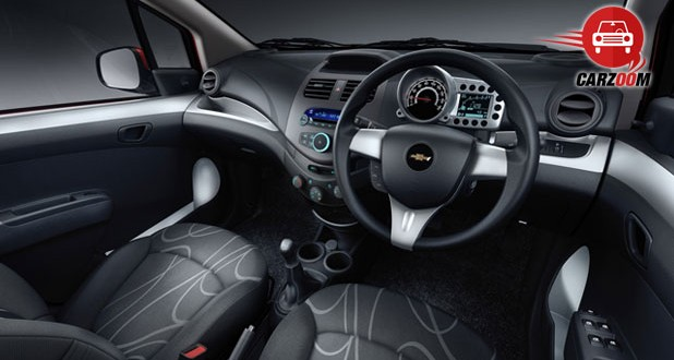 Auto Expo 2014 Chevrolet Beat facelift Interiors Seats