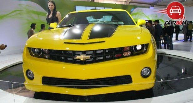 Auto Expo 2014 Chevrolet Camaro unveiled Exteriors Front View
