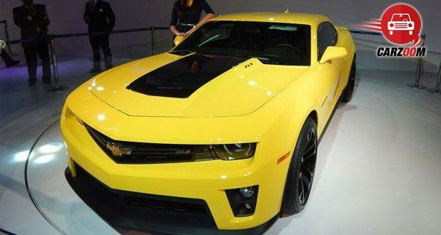 Auto Expo 2014 Chevrolet Camaro unveiled Exteriors Overall