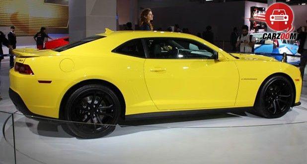 Auto Expo 2014 Chevrolet Camaro unveiled Exteriors Side View