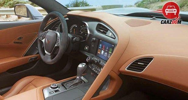 Auto Expo 2014 Chevrolet Corvette Coupe Interiors Dashboard