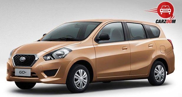 Auto Expo 2014 Datsun GO Plus Exteriors Front View