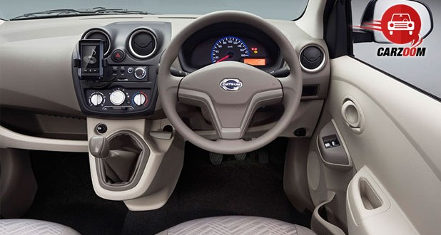 Auto Expo 2014 Datsun GO Plus Interiors Dashboard