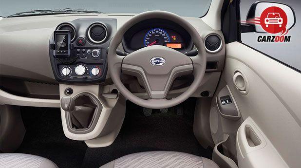 Auto Expo 2014 Datsun GO Plus Interiors Dashboard