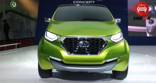 Auto Expo 2014 Datsun redi-Go Concept Exteriors Front View