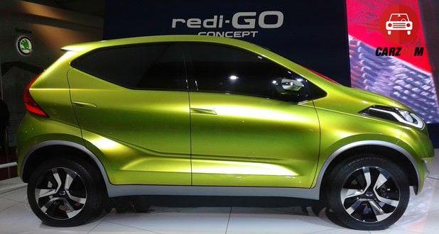 Auto Expo 2014 Datsun redi-Go Concept Exteriors Side View