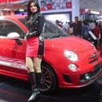 Auto Expo 2014 Fiat Punto Abarth Exteriors Overall