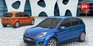 Auto Expo 2014 Ford Figo Facelift