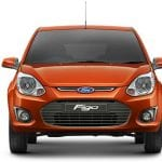 Auto Expo 2014 Ford Figo Facelift Exteriors Front View