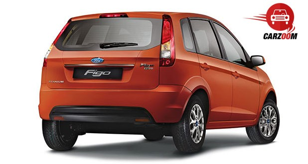 Ford Figo Facelift Exteriors Back View