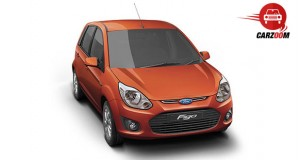 Auto Expo 2014 Ford Figo Facelift Exteriors Top View