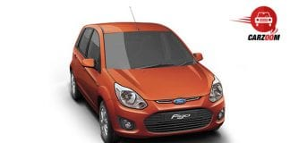 Auto Expo 2014 Ford Figo Facelift Exteriors Top View