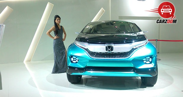 Auto Expo 2014 Honda Vision XS-1 Concept Exteriors Overall