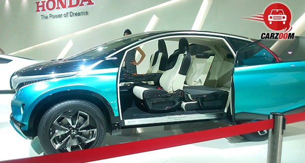 Auto Expo 2014 Honda Vision XS-1 Concept Interiors Seats