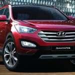 Auto Expo 2014 Hyundai New Santa FE Exteriors Front View
