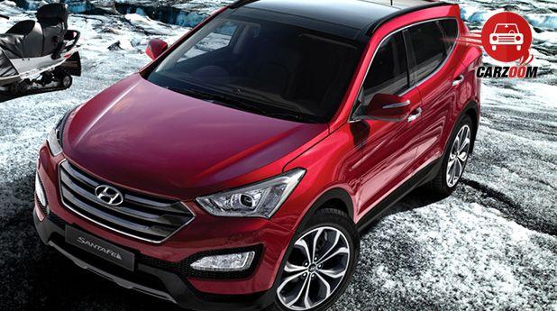 Auto Expo 2014 Hyundai New Santa FE