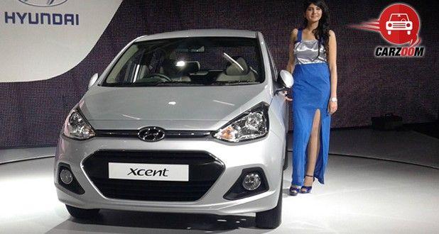 Hyundai Xcent Exteriors Front View