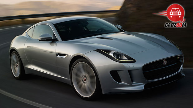 Jaguar F-Type Coupe Exteriors Front View