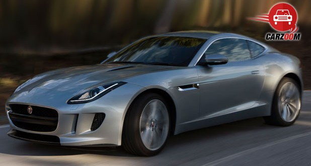 Auto Expo 2014 Jaguar F-Type Coupe Exteriors Overall