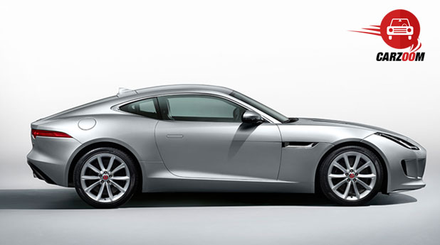 Jaguar F-Type Coupe Exteriors Side View