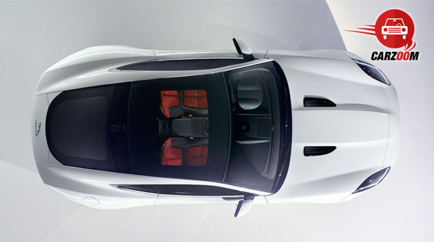 Jaguar F-Type Coupe Exteriors Top View