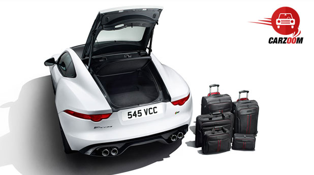 Jaguar F-Type Coupe Interiors Bootspace