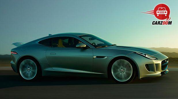 Auto Expo 2014 Jaguar F-Type Coupe