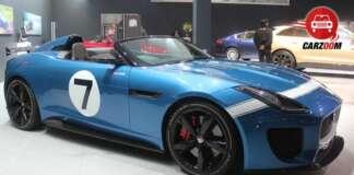 Auto Expo 2014 Jaguar Project 7 Concept