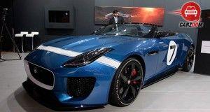 Auto Expo 2014 Jaguar Project 7 Concept Exteriors Overall
