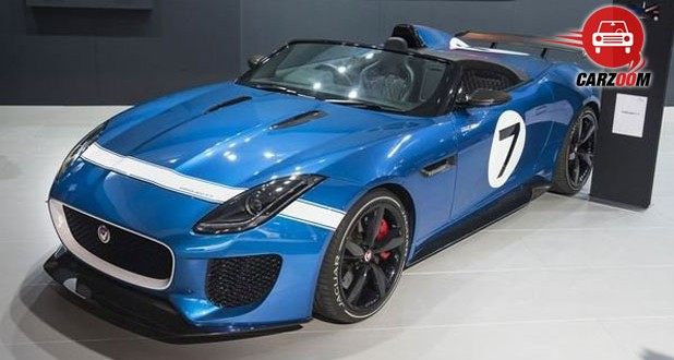 Auto Expo 2014 Jaguar Project 7 Concept Exteriors Top View