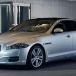 Auto Expo 2014 Jaguar XJ Exteriors Overall